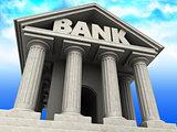 bank facade