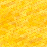 Brick Wall Yellow Background