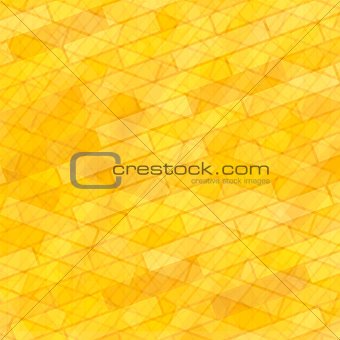 Brick Wall Yellow Background