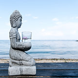 Buddha Statue Near The sea