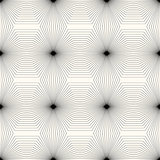 Geometric monochrome seamless pattern.