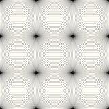 Geometric monochrome seamless pattern.