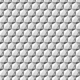 Gray geometric 3d shapes - seamless.