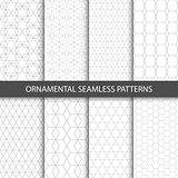 Ornamental seamless patterns - vector collection.