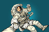 follow me, woman astronaut