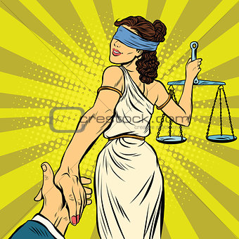 follow me, Themis leads to court