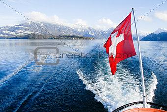 Cruise on Lake Lucerne,Switzerland