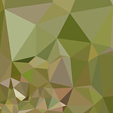 Dark Olive Green Abstract Low Polygon Background