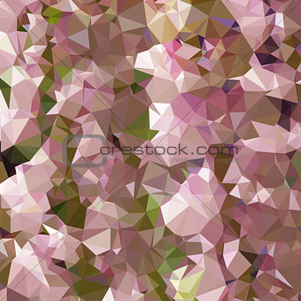 Lavender Rose Pink Abstract Low Polygon Background