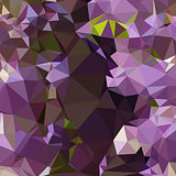 Rich Lilac Purple Abstract Low Polygon Background