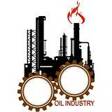 Icon petroleum refining industry
