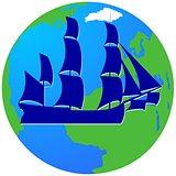 Sailing ship-12