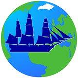 Sailing ship-13