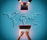 Share on global Internet