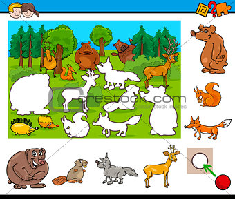 cartoon activity for kids