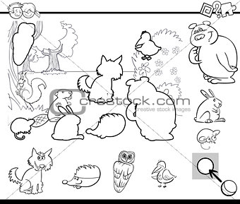 activity task coloring page
