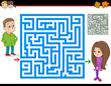 maze or labyrinth activity game