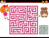 maze activity task