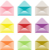 Open envelope colors