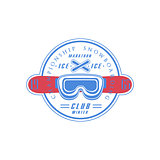 Snowboarding Club Emblem Design