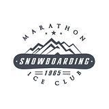 Ice Club Emblem Design
