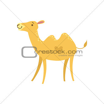 Camel Stylized Childish Drawing