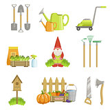 Garden Related Objects Set