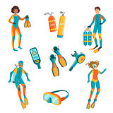 People, Scuba Diving And Freediving Gear