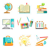 School Education And Studies Related Illustrations