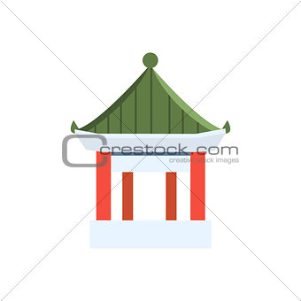 Small Chinese Pagoda Simplified Icon