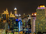 Night in Bangkok Thailand