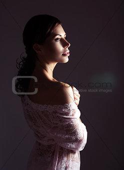 Beautiful seductive girl