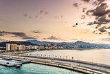 Malaga, Spain Oceanfront