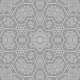 Creative Ornamental Grey Pattern