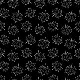 seamless pattern with Maple Leaf. vector