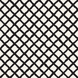 Vector Seamless Diagonal Grid Lines Rhombus Pattern