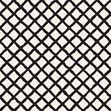 Vector Seamless Diagonal Grid Lines Rhombus Pattern