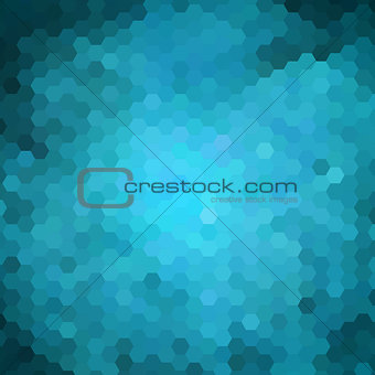 abstract geometric hexagon background