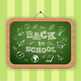 Back to school greeting text.