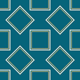 A symmetrical square pattern