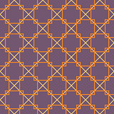 Seamless square pattern. Purple background