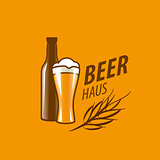 vector beer logo