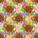 Seamless Tile Floral Pattern
