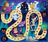 Board game with Halloween theme 1