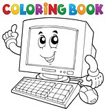 Coloring book computer thematics 1