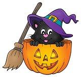 Halloween cat theme image 1