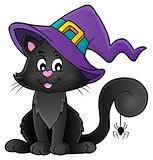 Halloween cat theme image 2
