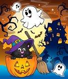 Halloween cat theme image 3