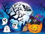 Halloween cat theme image 4