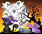 Halloween cat theme image 6